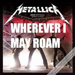 Metallica Where Ever I May Roam Exiperence 2018 - Social